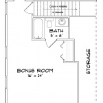 Neuse Second Floor Plan C